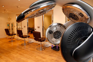 The Salon hairdressing facilities